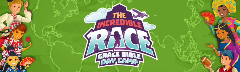 Grace Bible Day Camp - The Incredible Race